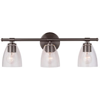 Mariana 320383 Solebay 3 Light 23 inch Bronze Bath Vanity Wall Light