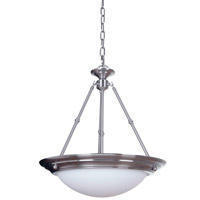Signature 3 Light 20 inch Satin Nickel Pendant Ceiling Light