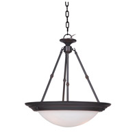Orbit 3 Light 20 inch Oil Rubbed Bronze Pendant Ceiling Light
