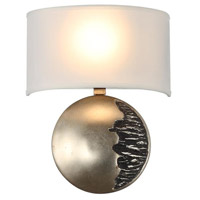 Mariana 330145 Windsor LED 11 inch Antique Silver Leaf Wall Sconce Wall Light
