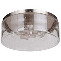 Mariana 331645 Eldon 3 Light 16 inch Brushed Nickel Flush Mount Ceiling Light