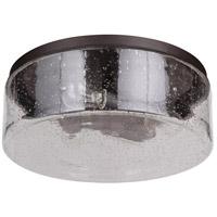 Mariana 331683 Eldon 3 Light 16 inch Bronze Flush Mount Ceiling Light