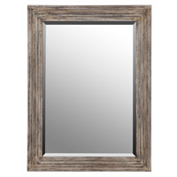 Signature 45 X 33 inch Wood Mirror Home Decor