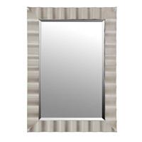 Mariana Silver Mirror in Satin Silver 340030