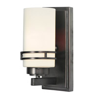 Mariana Uptown 1 Light Wall Sconce in Satin Nickel 350145