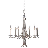 Mariana 390655 Contessa 6 Light 28 inch Champagne Chandelier Ceiling Light