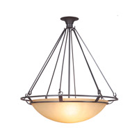 Mariana Ecliptic 4 Light Pendant in Urban Bronze 392783