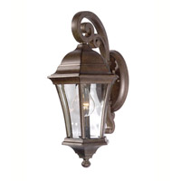 Signature 1 Light 9 inch Heritage Bronze Outdoor Wall Lantern