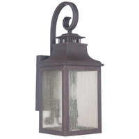 Drake 2 Light 8 inch Bronze Outdoor Lantern