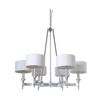 Mariana Pembroke 1 Light Chandelier in  Chrome 410605