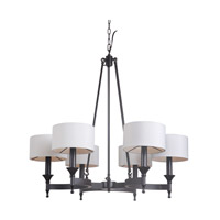 Mariana Pembroke 1 Light Chandelier in Urban Bronze 410673