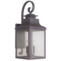 Drake 3 Light 11 inch Bronze Outdoor Lantern