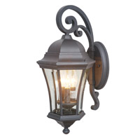 Mariana Signature 3 Light Outdoor Lantern in Heritage Bronze 413112