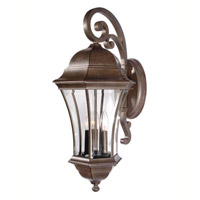 Mariana Signature 3 Light Outdoor Lantern in Heritage Bronze 413136