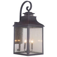 Drake 4 Light 13 inch Bronze Outdoor Lantern