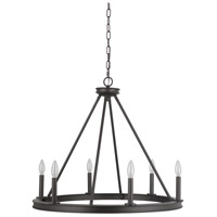 Mariana 440683 Chisholm 6 Light 27 inch Bronze Chandelier Ceiling Light