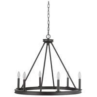 Mariana 440683 Chisholm 6 Light 27 inch Bronze Chandelier Ceiling Light