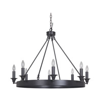 Mariana Camden 1 Light Chandelier in Urban Bronze 450873