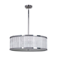 Crayton 1 Light 24 inch Chrome Pendant Ceiling Light