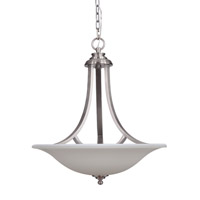 Mariana Loft 3 Light Pendant in Satin Nickel 460045