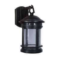Revere LED 13 inch Rustic Bronze Outdoor Wall Sconce