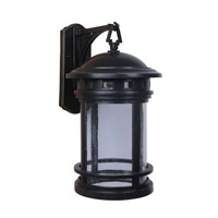 Mariana Revere LED Outdoor Wall Sconce in Rustic Bronze 511168