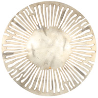Saville LED 18 inch Silver Leaf Wall Sconce Wall Light