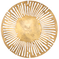 Saville LED 18 inch Gold Leaf Wall Sconce Wall Light