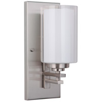 Mariana 520145 Chryssa 1 Light 5 inch Brushed Nickel Wall Sconce Wall Light