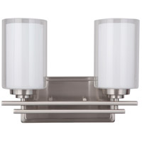 Mariana 520245 Chryssa 2 Light 13 inch Brushed Nickel Wall Sconce Wall Light