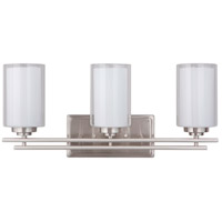Mariana 520345 Chryssa 3 Light 23 inch Brushed Nickel Wall Sconce Wall Light