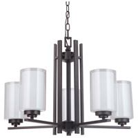 Mariana 520583 Chryssa 5 Light 25 inch Bronze Chandelier Ceiling Light