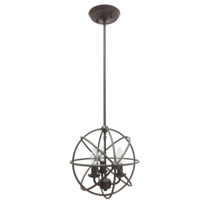Mariana Signature 3 Light Pendant in Urban Bronze 521273
