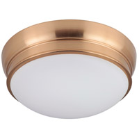Mariana 551124 Classic 2 Light 11 inch Brass Flush Mount Ceiling Light