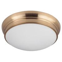 Mariana 551524 Classic 3 Light 15 inch Brass Flush Mount Ceiling Light