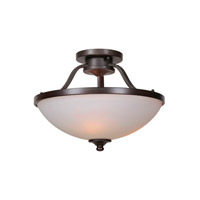 Mariana Urban 3 Light Semi-Flush Pendant in Urban Bronze 551783