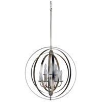 Mariana 552814 Brentwood 9 Light 28 inch Champagne Orb Pendant Ceiling Light