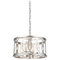 Mariana 561614 Wysteria 4 Light 16 inch Champagne Pendant Ceiling Light
