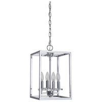 Graham 4 Light 10 inch Nickel Pendant Ceiling Light