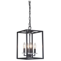 Graham 4 Light 10 inch Bronze Pendant Ceiling Light