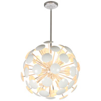 Mariana 612818 Anika LED 24 inch White Pendant Chandelier Ceiling Light