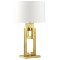 Westbourne 30 inch 75 watt Brass Table Lamp Portable Light