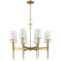Mariana 620842 Clement 8 Light 30 inch Brass Chandelier Ceiling Light