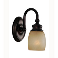Mariana Artisian 1 Light Wall Sconce in Bronze 628132