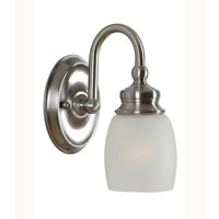 Mariana Artisian 1 Light Wall Sconce in Satin Nickel 628145