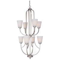 Mariana 630845 Hugo 8 Light 23 inch Satin Nickel Chandelier Ceiling Light