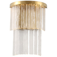 Mariana 640102 Amelia LED 12 inch Antique Brass Wall Sconce Wall Light