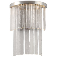 Amelia LED 12 inch Polished Nickel Wall Sconce Wall Light