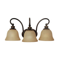 Mariana Heritage 3 Light Wall Sconce in Oil Rubbed Bronze 670390