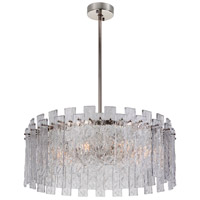 Mariana 692825 Isling 8 Light 28 inch Polished Nickel Pendant Ceiling Light